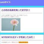 Laravel6チュートリアル:画像投稿機能を作って投稿に表示させよう!
